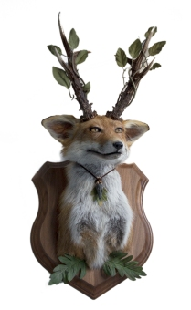 Howl F. Pendragon - The Antlered Fox - 2021 - SOLD